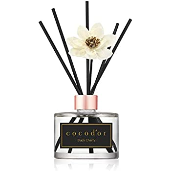 Amazon.com: Cocod'or White Flower Reed Diffuser/Black