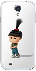 Zing Revolution MS-DMT310456 Despicable Me 2 - Agnes Cell Phone Cover Skin for Samsung Galaxy S4 - Retail Packaging - Multicolored