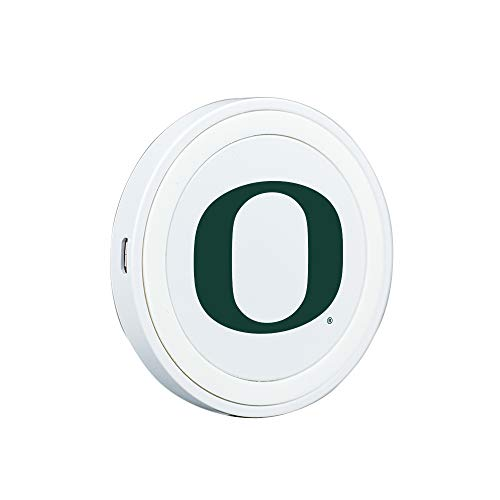 - QuikVolt Oregon Ducks Launch Pad Wireless Charger - White