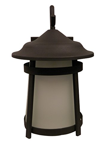 Litex OWS2432 Litex OWS2432 Outdoor Wall Sconce with Frosted