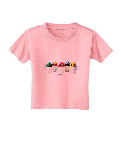 TooLoud Kawaii Easter Eggs - No Text Toddler T-Shirt - Candy