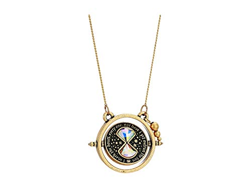 (Alex and Ani Women's Harry Potter Time Turner Spinner 32 inch Necklace, Rafaelian)