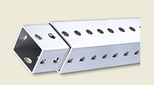 Perforated Steel Telespar Tubing- 1-3/4