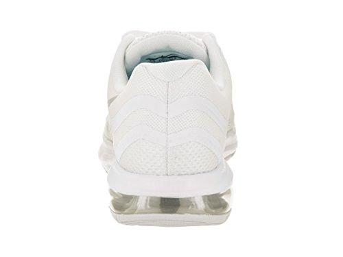 Nike Dames Air Max Dynastie 2 Loopschoen Wit / Chroom Puur Platina