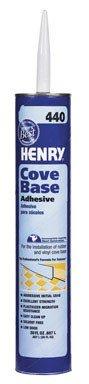 Henry No.440 Cove Base Adhesive Concrete, Brick, Drywall Wood, Brick, Plastic 30 Oz
