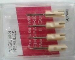 Fine Needles Fabric - Fine Tagging Gun Needles For Avery Dennison Style Fine Tagging guns 4 Pack