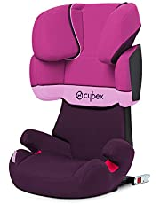 Cybex - Silla de coche grupo 2/3 Solution X-Fix, para coches con