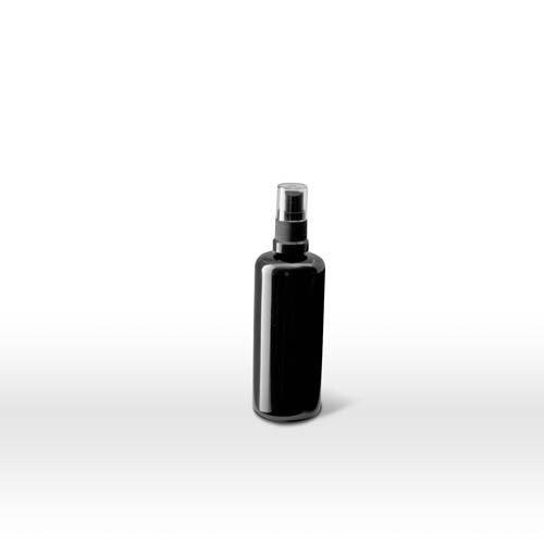 Infinity Jars 100 Ml (3.4 fl oz) Black Ultraviolet Glass Fine Mist Spray Bottle 10-Pack by Infinity Jars (Image #4)