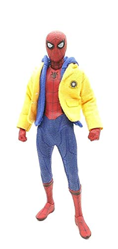 FIGLot Yellow Jacket & Hoodie for Mezco Homecoming Spider-Man (Figure NOT Included) -