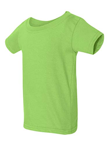 By Gildan Toddler Softstyle 45 Oz T-Shirt - Lime - 3T - (Style # G645P - Original Label)]()