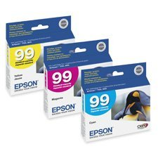 Epson T099420 - T099420 (99) Claria Ink, 450 Page-Yield, Yellow-EPST099420 (Ink Yellow T099420)
