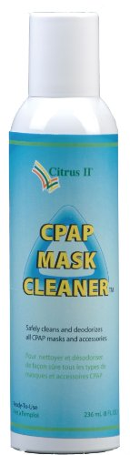 Citrus II Cpap Mask Cleaner, 8 Fluid Ounce