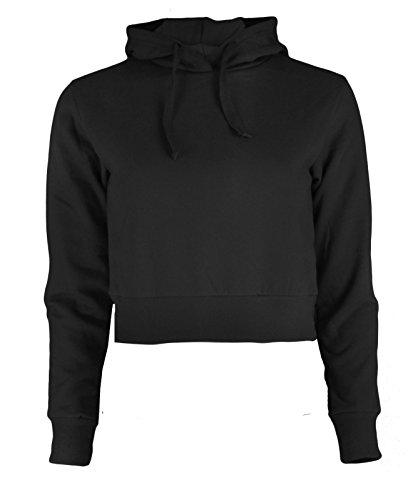 Re Tech UK - Sudadera con capucha - para mujer negro