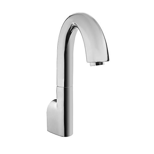 TOTO TELS163#CP Gooseneck Wall-Mount ECOPOWER 0.35 GPM Electronic Touchless Sensor Bathroom Faucet Spout, Chrome-TELS163, Polished Chrome ()