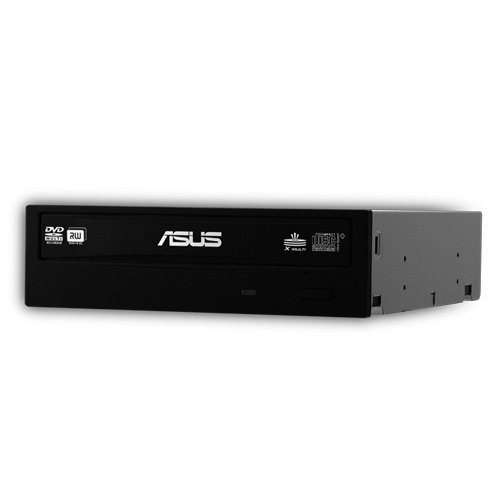 (ASUS Internal 24X SATA Optical Drive DRW-24B3ST/BLK/G (Black))