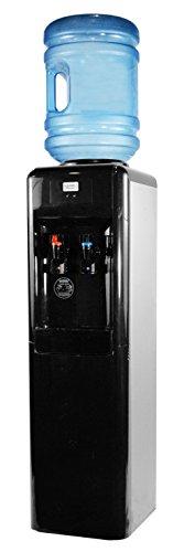 Cold Floor Water Dispenser - Aquverse A6000-K Top-Load Water Dispenser Filtration System, Stainless Black