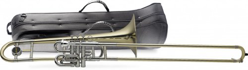 Levante LV-TB4955 Bb Piston Slide Trombone with Case by Levante