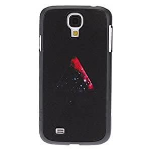 Mini - Red Triangle Pattern Hard Case for Samsung Galaxy S4 I9500