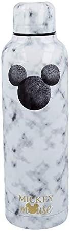 Stor Mickey Mouse (Disney) | Botella de Agua Reutilizable de Acero Inoxidable | Cantimplora Termo con Doble Aislamiento para 12 Horas de Bebida Caliente y 18 Horas de Bebida Fría - Libre BPA - 515 ml