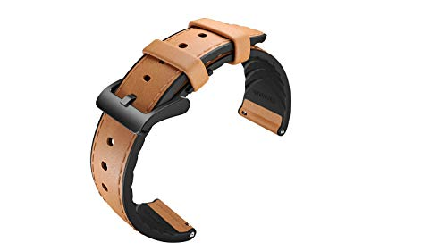 Ticwatch Pro Genuine Leather Watch Band, for TicWatch Pro 22mm Width Watch Band, TicWatch Pro Replacement Band - Genuine Leather Pro