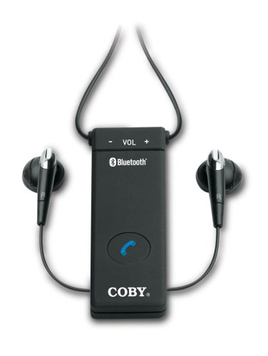 Coby Bluetooth Wireless Stereo Earphones with Dongle CVE162 (Black) (Discontinued by Manufacturer)