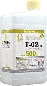T-02m acrylic solvent (large) 500ml [HTRC 3] (japan import) by M