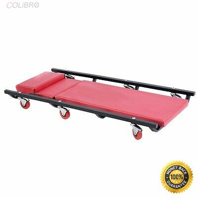 COLIBROX--Mechanics Creeper Rolling Shop Garage Auto Car Repair Work Tool Wheels Cart New Capacity: 300 Lbs Six Swivel Casters Package Dimension: 21.85 x 17.33 x 4.61 inch GW: 18 Lbs
