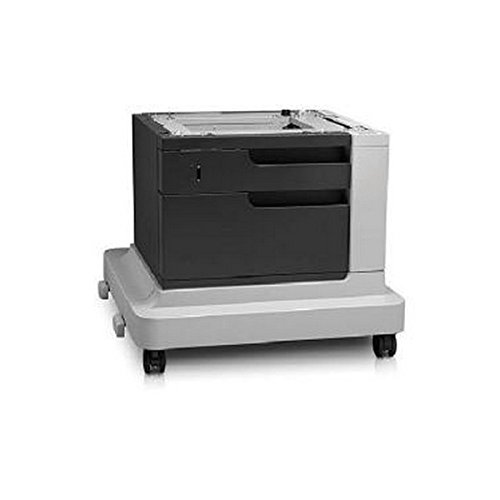 - HP - Printer base with media feeder - 500 sheets in 1 tray(s) - for LaserJet Enterprise M4555h MFP