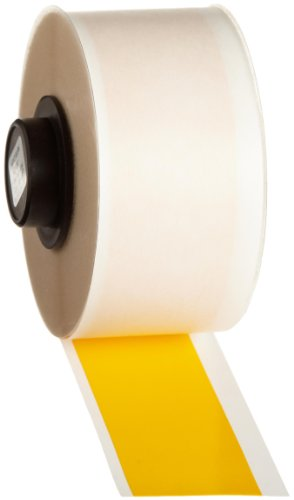 Brady 42104 HandiMark 50' Length 1'' Width, B-581 Repositionable Vinyl Film Yellow Color Tape by Brady