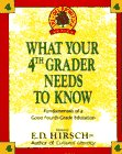 WHAT YOUR 4TH GRADER NEEDS TO KNOW (Core Knowledge Series)