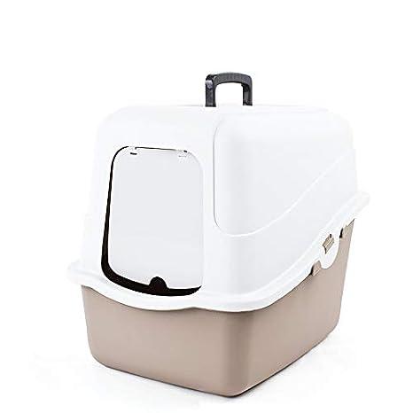 Leon s Shop Gato de WC, antibacteriana Desodorante vollautomatisch Cerrado