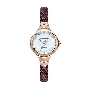 Emporio Armani Reloj Analógico para Mujer de Automático con Correa en Cuero ARS8250 5