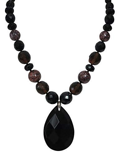 LaRaso Co Necklace Black...