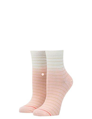 Lowrider Womens Socks (Stance Women's Dip Toe Lowrider Pink)