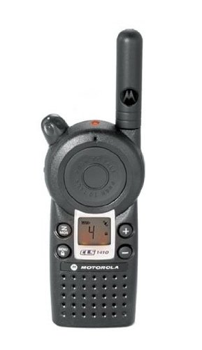 Motorola Professional CLS1410 5-Mile 4-Channel UHF Two-Way R