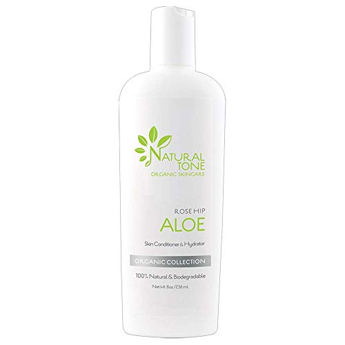 Rosehip Aloe Lotion Skin Conditioner and Hydrator 8oz ()