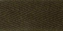 100% Cotton Twill Tape 5/8x55yd-Dark Brown by Products From Abroad