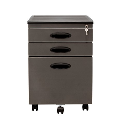 Pewter Filing File Cabinet (Calico Designs File Cabinet in Pewter 51101)
