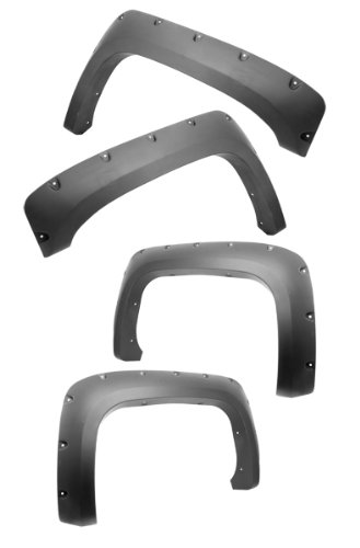 Outland 398163020 All Terrain Fender Flare for Chevy 1500/2500HD/3500HD Pickups (Best All Terrain Tire For Chevy 2500hd)