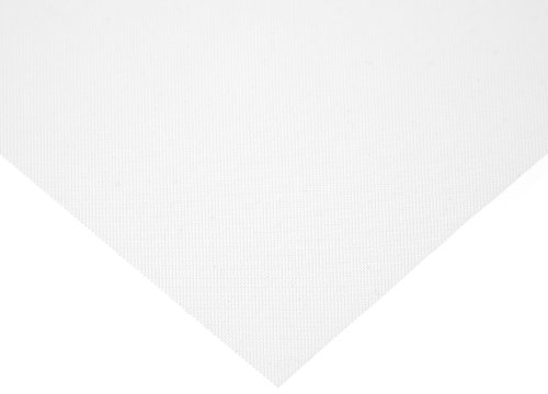 Polyester Mesh Sheet, Opaque Off-White, 12
