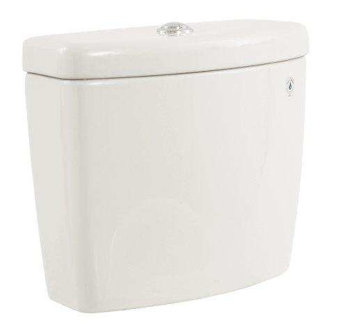 TOTO Aquia II Dual Flush Toilet Tank - COTTON WHITE - Tank Only (Bowl Sold (Aquia Dual Flush Toilet)