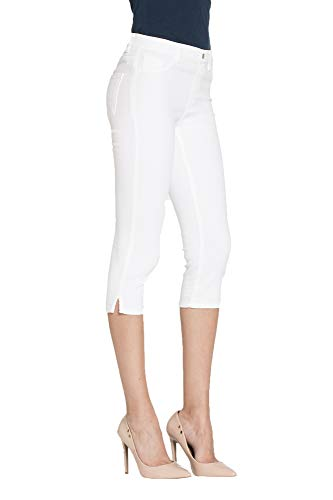 Jeggings L Para Mujer Jeans Tejido Liso Extensible Carrera Color Es 7q51xwz