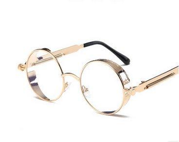 Sol Gafas Redondo 1 Amoy y Marco Unidad Hombre B Mujer para B D Vintage de X5w5qtZ
