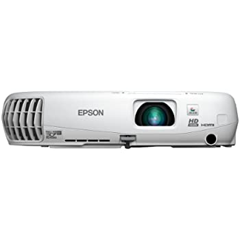 Epson Home Cinema 750HD, HDMI, 3LCD, 2D/3D, 3000 Lumens Color and White Brightness, Home Entertainment Projector