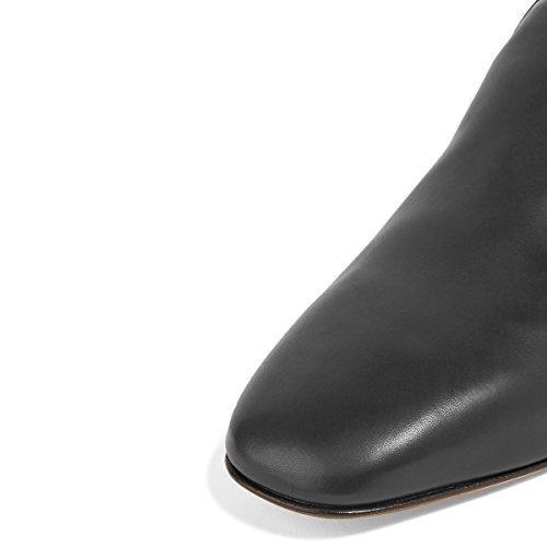Fsj Kvinner Casual Loafers Skli På Komfortable Walking Leiligheter Kjøre Fritidssko Størrelse 4-15 Oss Svart