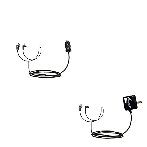 (Essential Gomadic AC /DC Charge Accessory Bundle Kit for the Jaybird Freedom Sprint includes Gomadic Home and Car Chargers at a Money Saving Price. Based on TipExchange Technology)