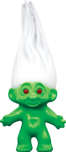 SDCC San Diego Comic Con 2012 Good Luck Troll Black-Light Green White Hair Limited Edition of 1,500