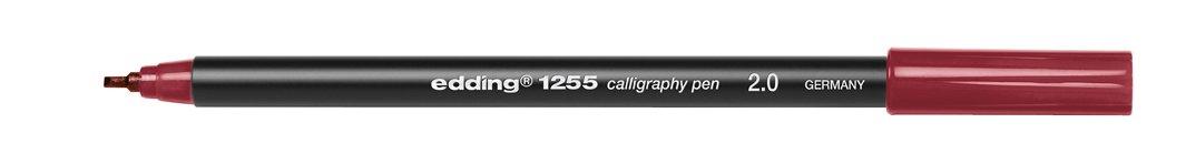 edding 1255 Calligraphy Pen Pack of 3 Steel Blue