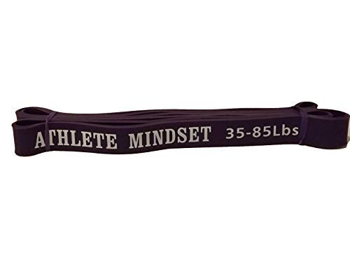 Cheap ATHLETE MINDSET Assisted Pull-Up Band, Resistance & Stretch Band | Mobility Band | Powerlifting Band | 41-inch Loop | Single Band (Heavy)