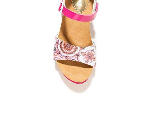 Desigual Fashion de Sandals uva Women's Pasa YzwYqvf